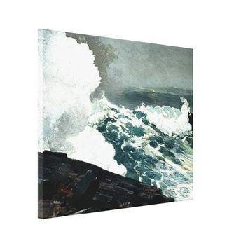 Noreaster - Winslow Homer famous painting