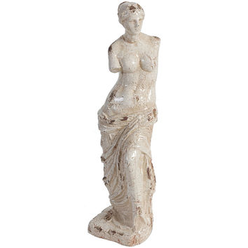 """25"""" Classical Statue, Cream, Busts, Statues & Statuettes"""