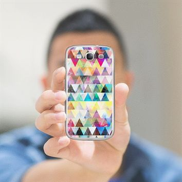 Mix #588 - Triangles Galaxy S III case by Orna Artzi | Casetify