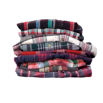 MYSTERY FLANNEL vintage shirt