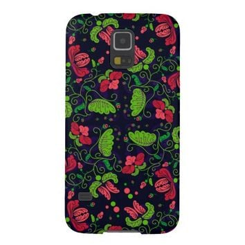 Hibiscus Flower Pattern Samsung Galaxy S5 Case