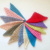 Choose your colors, create your triple set, wascloth, dishcloth