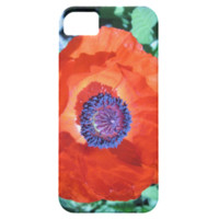 Poppy Flower iPhone 5 Covers