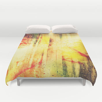 Existing In Thought Duvet Cover by Timothy Davis