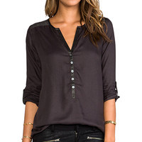 Soft Joie Rongo Blouse in Charcoal