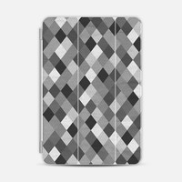 Harlequin Black and White iPad Mini case by Project M | Casetify