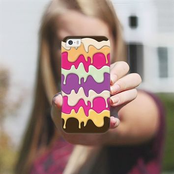 Melting Ice Cream iPhone 5s case by Orna Artzi | Casetify