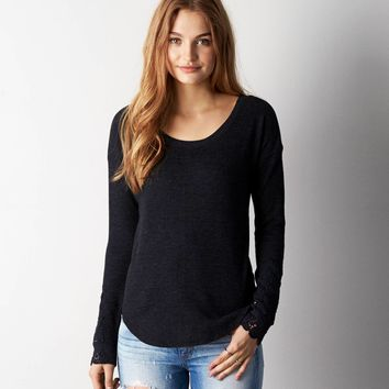 AEO Jegging Thermal, Olive | American Eagle Outfitters