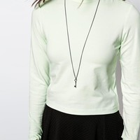 Only High Neck Top at asos.com