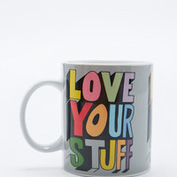 Rude Love Your Stuff Mug - Urban Outfitters