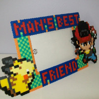 Pokemon and Trainer 'Man's Best Friend' Pet Frame