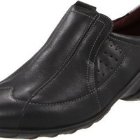 ECCO Women`s Lane Slip-On Loafer,Black,40 EU/9-9.5 M US