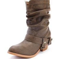 Low-Harness Slouch Boot