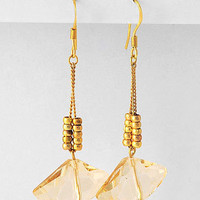 Light Topaz Crystal Earrings | Emma Stine Jewelry Earrings