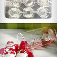 Cool Jewels Faceted Gems Ice Cube Tray | PLASTICLAND