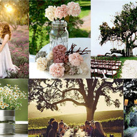 Create A Picture-Perfect Outdoor Wedding Scene With Lanterns, Tea Lights, And More