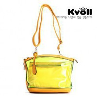Wholesale Kvoll bag transparent fashion shoulder bag B37256 - Lovely Fashion