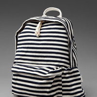 Brandy Melville Striped Back Pack in Cream/Navy from REVOLVEclothing.com