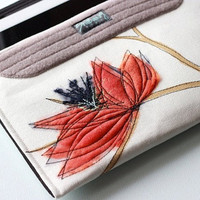 Gold & Tangerine iPad3 Sleeve