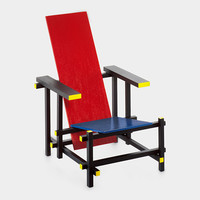 Miniature Chair, Rietveld Red Blue | MoMA