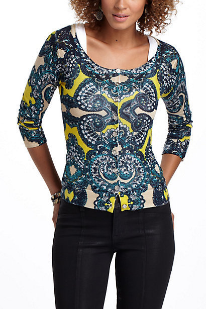 Paisley Party Cardigan