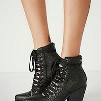 YES + Free People Womens Sidney Lace Up Boot