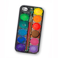 iPhone Case Watercolor Paint Box 2 iPhone Hard Case / Fits Iphone 4, 4S