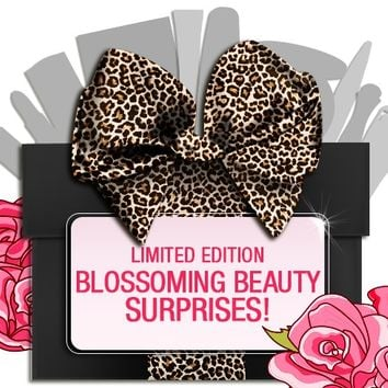 *SP 80% OFF - Blossoming Beauties Limited Edition Spring Trend Glam Box - Mirenesse