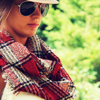 Copper Creek Plaid Scarf - Plaid