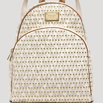 MICHAEL Michael Kors Backpack - Jet Set Item Large Studded