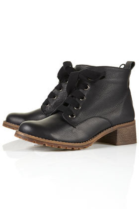 ALEXA Cleat Sole Lace-up Boots - Scandi Girl  - Collections