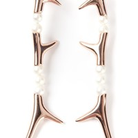 Shaun Leane Pearl Branch Earrings - Uzerai - Farfetch.com