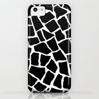 Mosaic Zoom Black and White iPhone & iPod Case by Project M | Society6