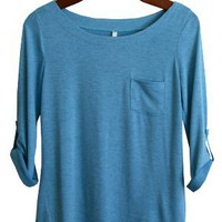 Perfect Everyday Shirt, Aqua Blue