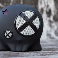 BoomBotix  Store  BB1 Dr. X Black Loud Speaker
