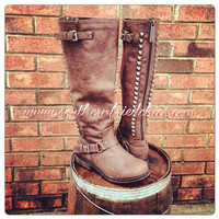 Show Stompin' Boots - Brown