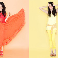 Collections Color Coded at Nasty Gal