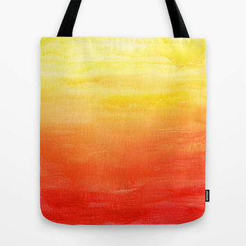 Sunset Tote Bag by Timone | Society6