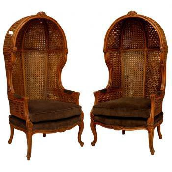 Pair of Antique Porter Chairs | Pieces