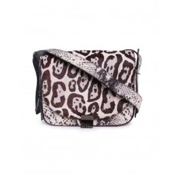 Ted Baker Puuma Large Zip Exotic Crossbody Bag