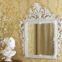 White Porcelain Mirror | Pieces
