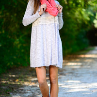 Runaway With Me Dress, Taupe