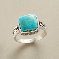 Sterling Silver & Turquoise Ring | Robert Redford's Sundance Catalog