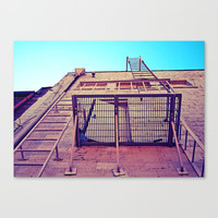 Basic balcony Stretched Canvas by Vorona Photography | Society6