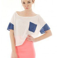 LIGHTWEIGHT BOXY CROP TOP @ KiwiLook fashion