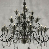 Lumax 021946PBN - 24-Light Traditional Crystal Chandelier LM-0219-46PBN
