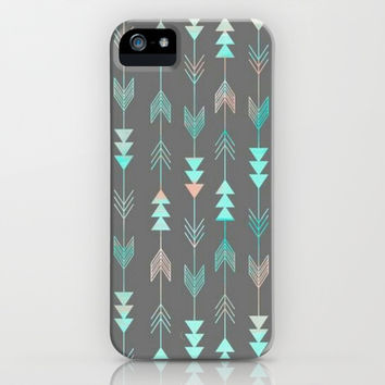 Arrows To My Heart iPhone & iPod Case by Pink Berry Pattern
