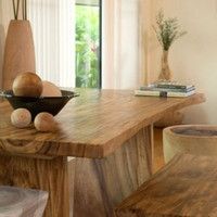 Natural Edge Table: Earth Friendly Furniture and Products - Terra Furnishings