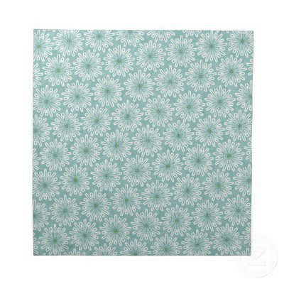 Fun Cute Flower Pattern Napkins - set of 4 from Zazzle.com