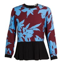 DRIES VAN NOTEN | Silk Floral Print Blouse | Browns fashion & designer clothes & clothing